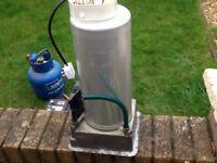 Caravan Water heater