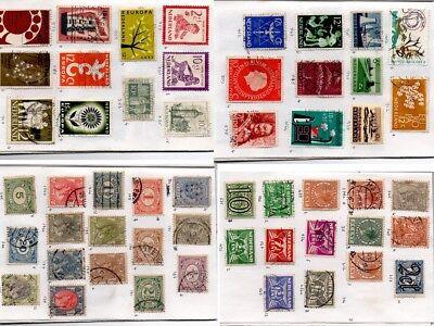 HOLLAND NEDERLAND NETHERLANDS  52 stamps in an Approvals Book