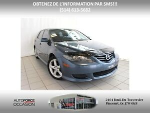 2004 Mazda Mazda6 S AUT TOIT 6CYL TOUTE EQUIPE AUT SUNROOF 6CYL  West Island Greater Montréal image 1