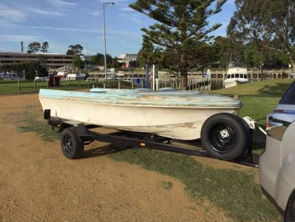 Vintage 1960's Caribbean Runabout Boat – Project