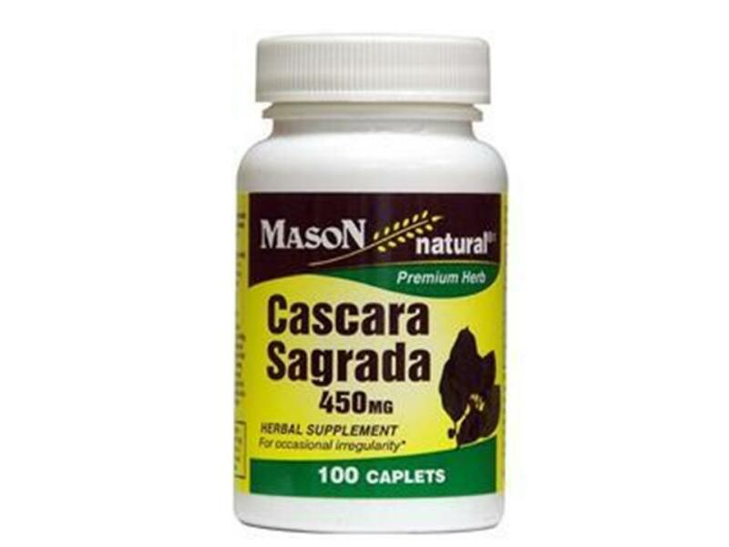 CASCARA SAGRADA 100 TABLETS 450 mg COLON CLEANSER BEST DEAL NATURAL LAXATIVE