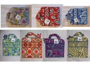 NWT-Vera-Bradley-Tech-Organizer-travel-case-reader-tablet-Kindle-Nook-iPad-mini