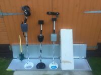 3 x SOUGHT AFTER - C-SOPE METAL DETECTORS - ALL WORKING - 1 IS STILL BRAND NEW BOXED - CHEAP !!!!!