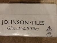Johnson white gloss wall tiles
