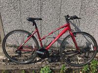 Ladies Saracen hybrid bike