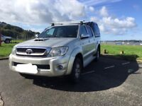 Hilux 3.0 auto and canopy