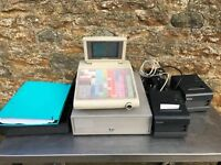 CASH REGISTER AND THERMAL PRINTER