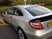 2004 Mercedes C180 Supercharged Kompressor PRICE REDUCED NO OFFERS