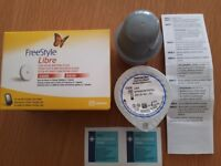 FREESTYLE LIBRE FLASH GLUCOSE MONITORING SYSTEM SENSOR AND APPLICATOR BRAND NEW USE BY DATE 31/1/19