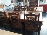 Thacket Table & 6 Chairs