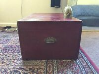 Authentic trunk!