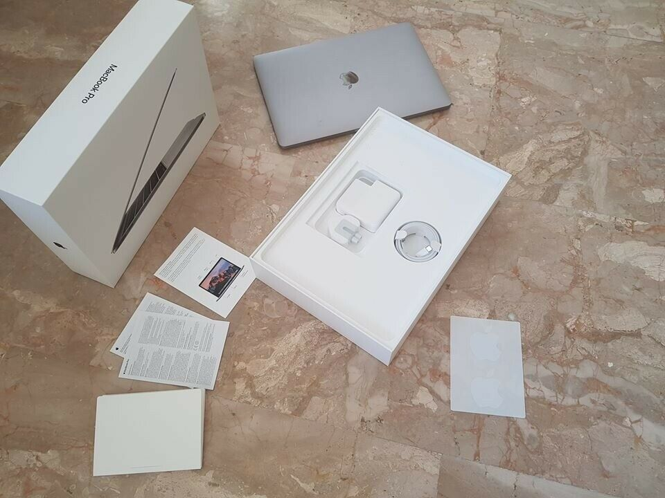 2017 Apple Macbook Pro 13 Inch - With original box and accessories - New  Battery!   in Christchurch, Dorset   Gumtree