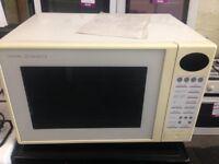 white toshiba microwave