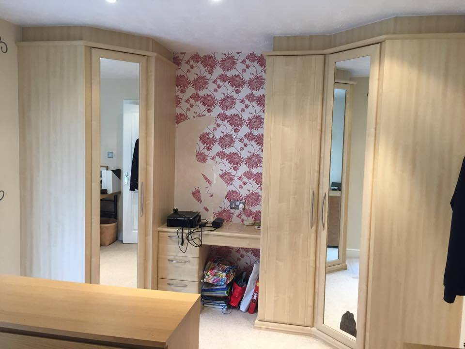 Free Hammonds Fitted Wardrobe Set Comprising Of 2