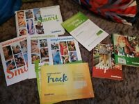 Weight watchers smart point set. Starter books and shop and eat out guide £4 lot