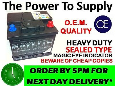 027 type Genuine OEM Battery 55ah 500cca FITS ALL MAKES />BMW.BENZ.AUDI.FORD/<