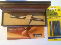 5 Sheaffer Pens in Presentation Boxes