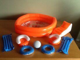 Vintage Sindy Toys - pool set