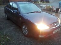2005 ford mondeo 2 litre tdci 6 speed