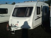 2007 swift Arran 4 berth fixed bed with fitted mover
