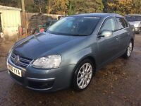 ** NEWTON CARS ** 06 VW JETTA 2.0 TDI SPORT 140 SALOON, GOOD COND, FSH, MOT MAY 2017, P/EX POSS