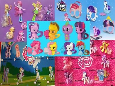 McDonald's My Little Pony 2018, 2017, 2016, 2015 & 2014  - FREE SHIPPING