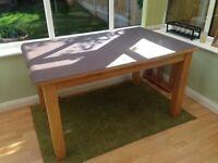 Oak Dining Table 135 x 90cm