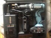 Erbauer 18v brushless drill