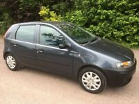 fiat punto 1.2 2002/51 plate with 77k and a september 2018 mot..