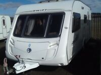 2008 swift challenger 530/4 berth end changing room with fitted mover
