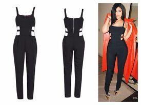 Celeb Inspired Black Jumpsuit Brand New