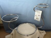 Set of 3 Stainless Steel Cake Stands (from £25) ideal for cake decorating business