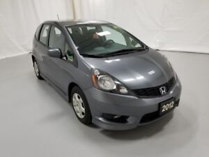 2012 Honda Fit SPORT 5-SPEED AT WIT