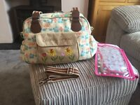 Yummy Mummy Blooming Gorgeous changing bag by pink lining