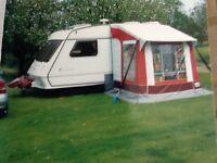 1998/99 Fleetwood Colchester 1300 2 berth caravan