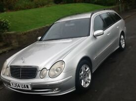 2005 MERCEDES E270 CDI AVANTGARDE AUTO ESTATE 7 SEATER WITH FULL LEATHER
