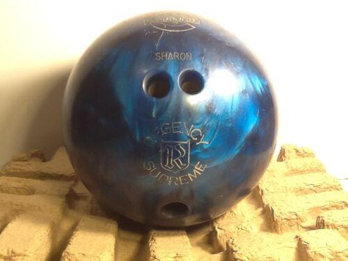 Vintage Bowling Ball Ebonite Regency Supreme Bowling Ball