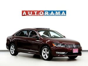 2014 Volkswagen Passat TDI COMFORT LINE LEATHER SUNROOF ALLOY WH
