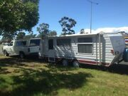 POP TOP CARAVAN DUAL WHEELS COMPLETE READY TO HOOK UP AND ENJOY Roxburgh Park Hume Area Preview