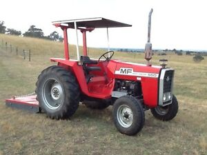 Massey Ferguson 550 plus Silvan Slasher and attachments Maffra Wellington Area Preview