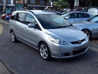 2007/07 MAZDA 5 2.0D SPORT 7 SEATER FAMILY CAR, 2 OWNERS,LOW MILEAGE,EXCELLENT CONDITION,DRIVES WELL