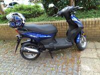 Sym 50cc de-restricted