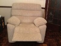 Furniture Village Electric Power Recliner Chair
