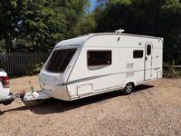 2007 Abbey GTS Vogue 416 4 berth caravan AWNING, Very Good Condition BARGAIN !