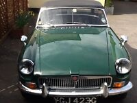Mgb 1969 British racing green