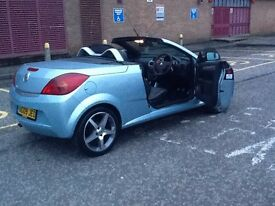 **URGENT SALE** 2009 VAUXHALL TIGRA 1.4 EXCLUSIVE CONVERTIBLE 2DR 40000 MILES,LEATHER SEATS,EXTRAS.