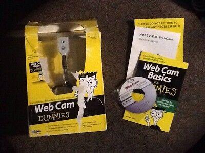 NEW Webcam For Dummies Model 49052-DM Includes Photags Software WEB CAM