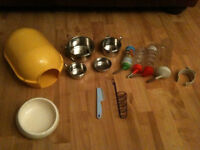 Small Animals Starter Kits - Ideal for Rats/Degus/Guinea pigs/Chinchilla/Chipmunks/Ferret - RRP £45+