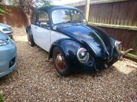 classic 1970 beetle for resto,pre 67 looker