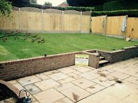 Driveways and landscaping fencing etc